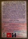 Taiji dolphin slaughter flyer from protest