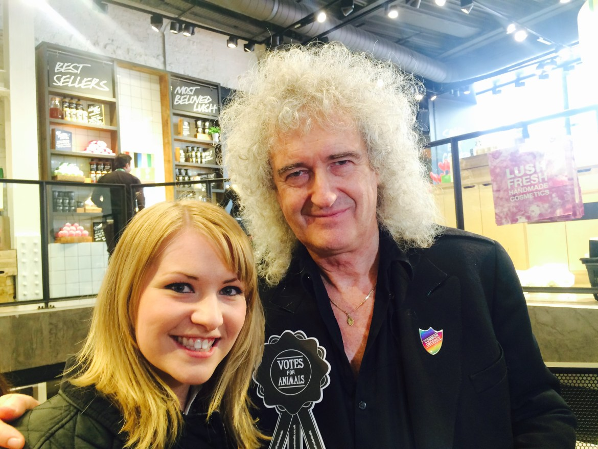 Kate on Conservation and Brian May