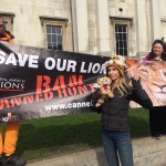 Anneka Svenska - Global march for Lions