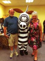 ZEBRA at World of Wildlife Exhibition: In support of elephants