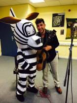 ZEBRA and Nick Stephenson at World of Wildlife Exhibition: In support of elephants