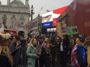 Protesters Save Our Lions