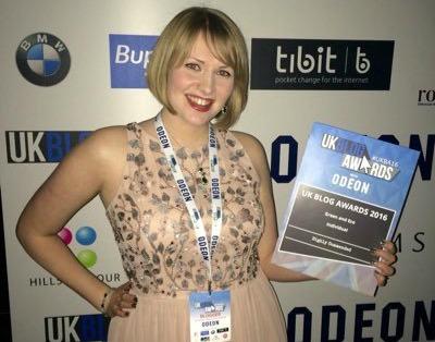 UK Blog Awards 2016 — Kate on Conservation, Highly Commended!