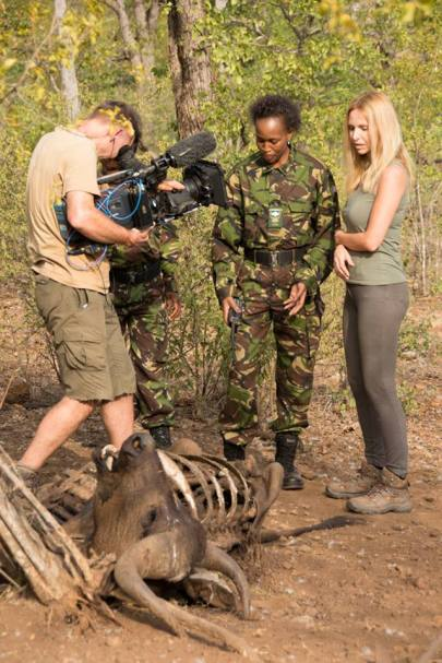 buffalo caught in snare the worst part of filming