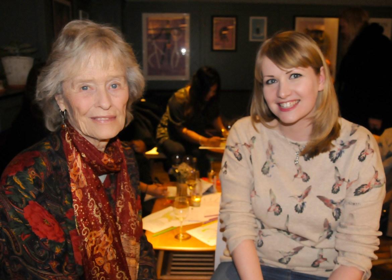Kate Snowdon and Virginia McKenna