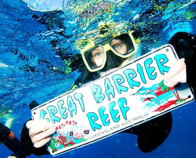 Kate on Conservation Great Barrier Reef