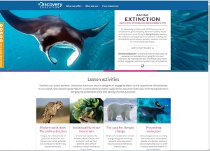racing extinction online resources Discovery