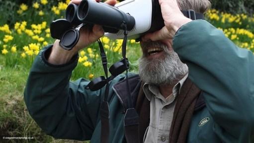 Ian Redmond vecotours VR headset