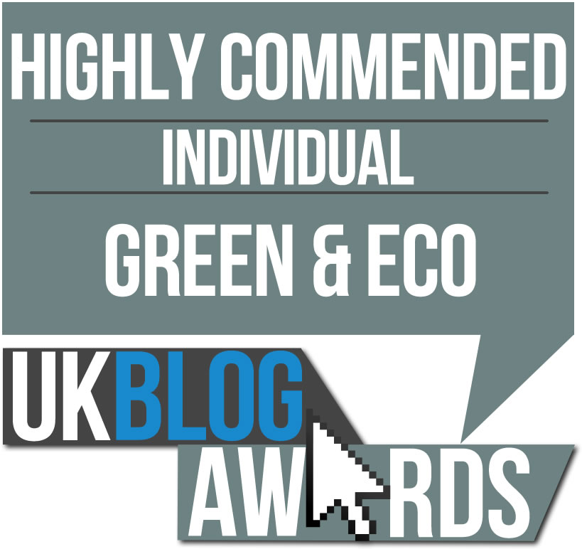 UK Blog Awards Highly Commended