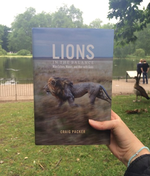 lions in the balance book