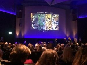 The Big Cat People seminar at the Royal Geographical Society, London.