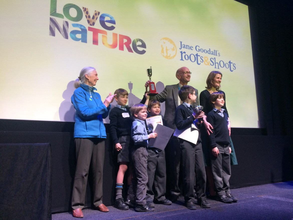 Jane Goodall's Roots and Shoots Awards