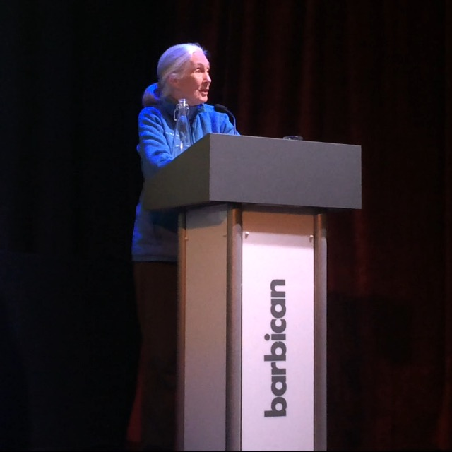Jane Goodall Roots and Shoot address
