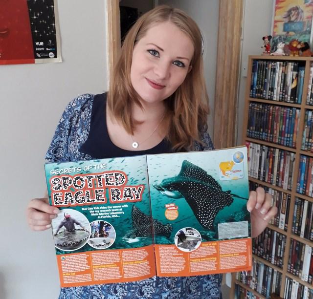 Nat geo kids magazine Kate on conservation