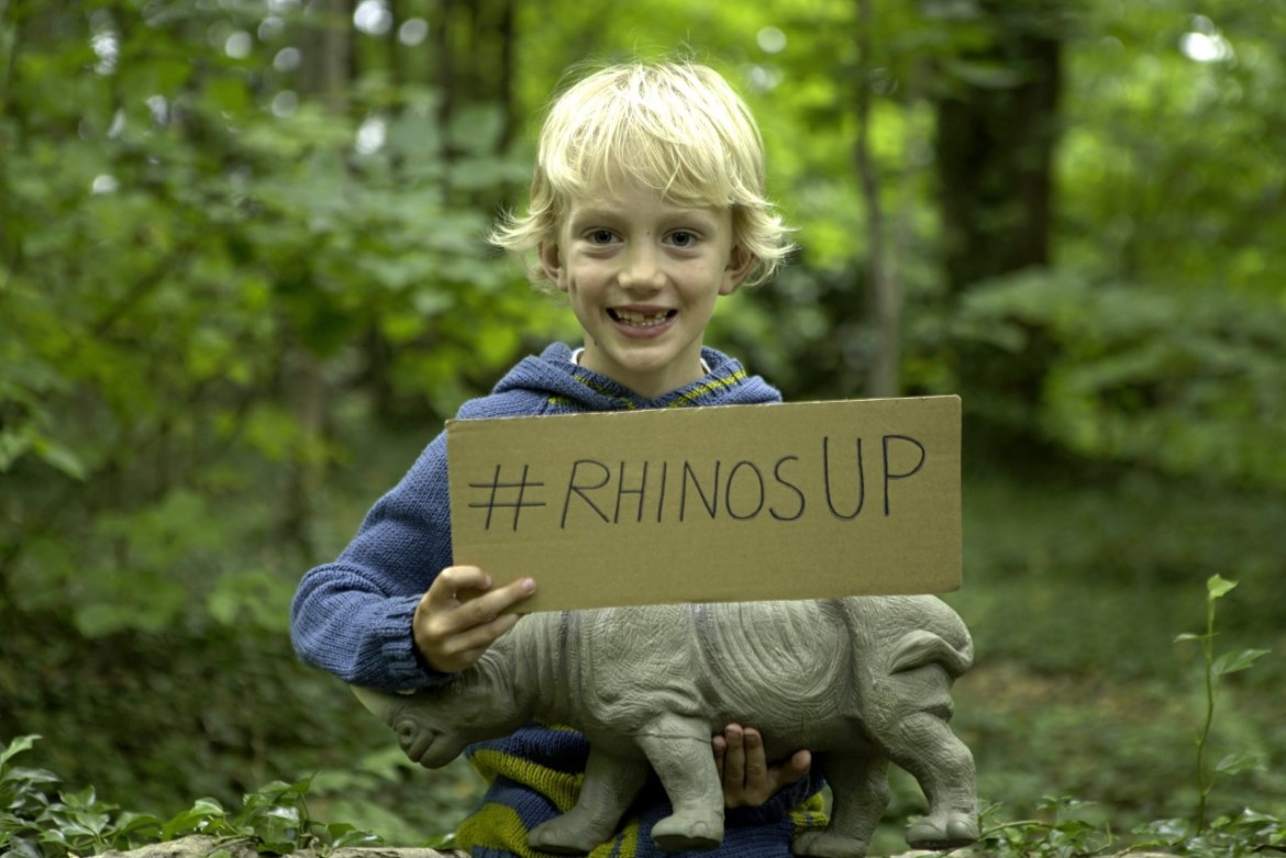 Rhino's Up: One six-year old's fight to protect the last Northern White Rhinos