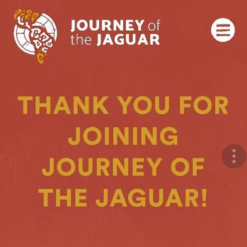 journey of the jaguar welcome