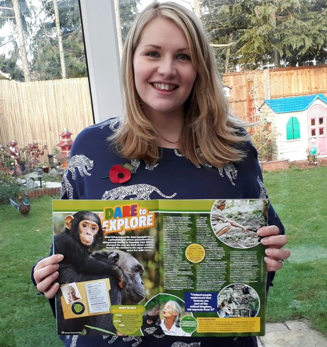kate on conservation nat geo kids jane goodall article