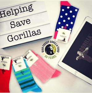 gorilla socks art