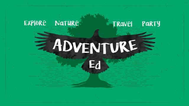adventure ed title card