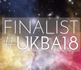 UK Blog Awards 2018 finalist badge