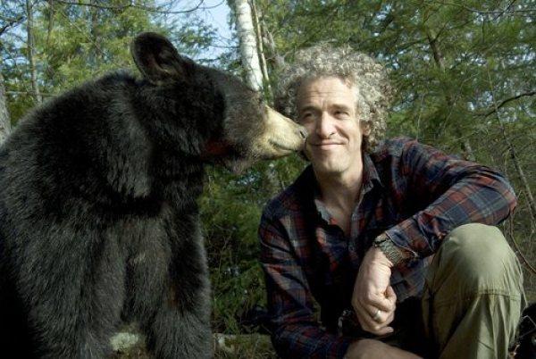 Gordon Buchanan with bear