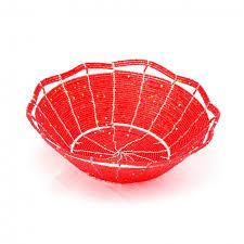 Beaded-dish