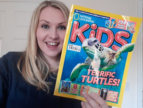 Kate on Conservation with Nat Geo Kids cover story