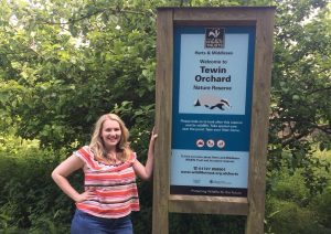 Kate-on-Conservation-at-Tewin-Orchard-Nature-Reserve