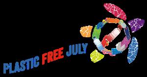 plastic free july logo