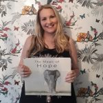 Kate on Conservation with The Magic of Hope book