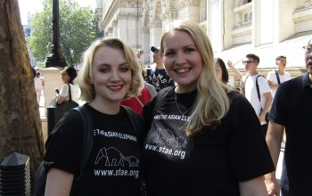 Kate on Conservation and Evanna Lynch support STAE