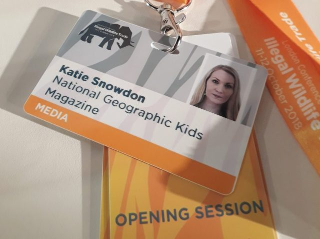 kate on conservation national geographic illegal wildlife trade media pass