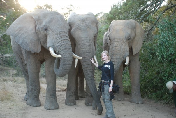 Kate-On-Conservation-with-Elephants-Shamwari