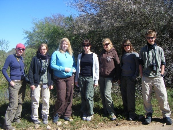 Shamwari student volunteer group 2