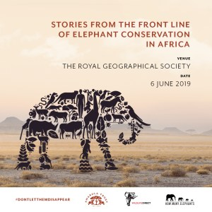how many elephants event poster
