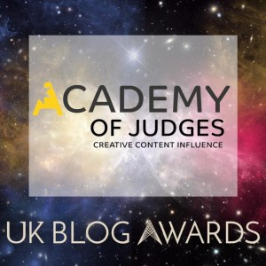 UK blog awards judge academy badge UKBA19