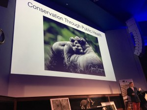 wildlife photographer Gavin Bowyer talks about Conservation Through Public Health founder Gladys Kalema-Zikusoka