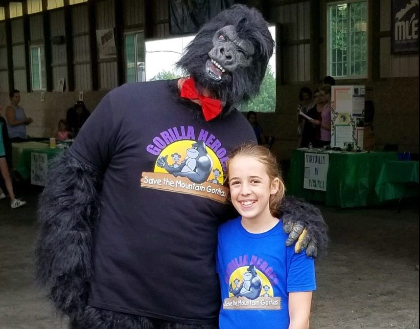Meet Addy: Mountain Gorilla Hero