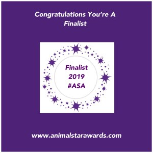 finalist badge for animal star awards