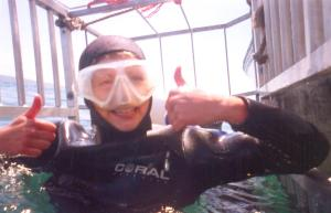 kate-on-conservation-in-the-shark-cage