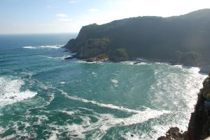 view-of-mossel-bay-sea-and-cliff-from-bnb