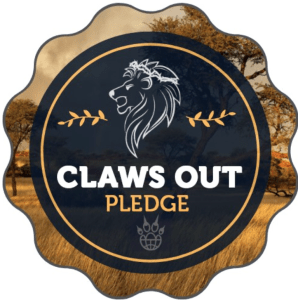 claws out pledge badge