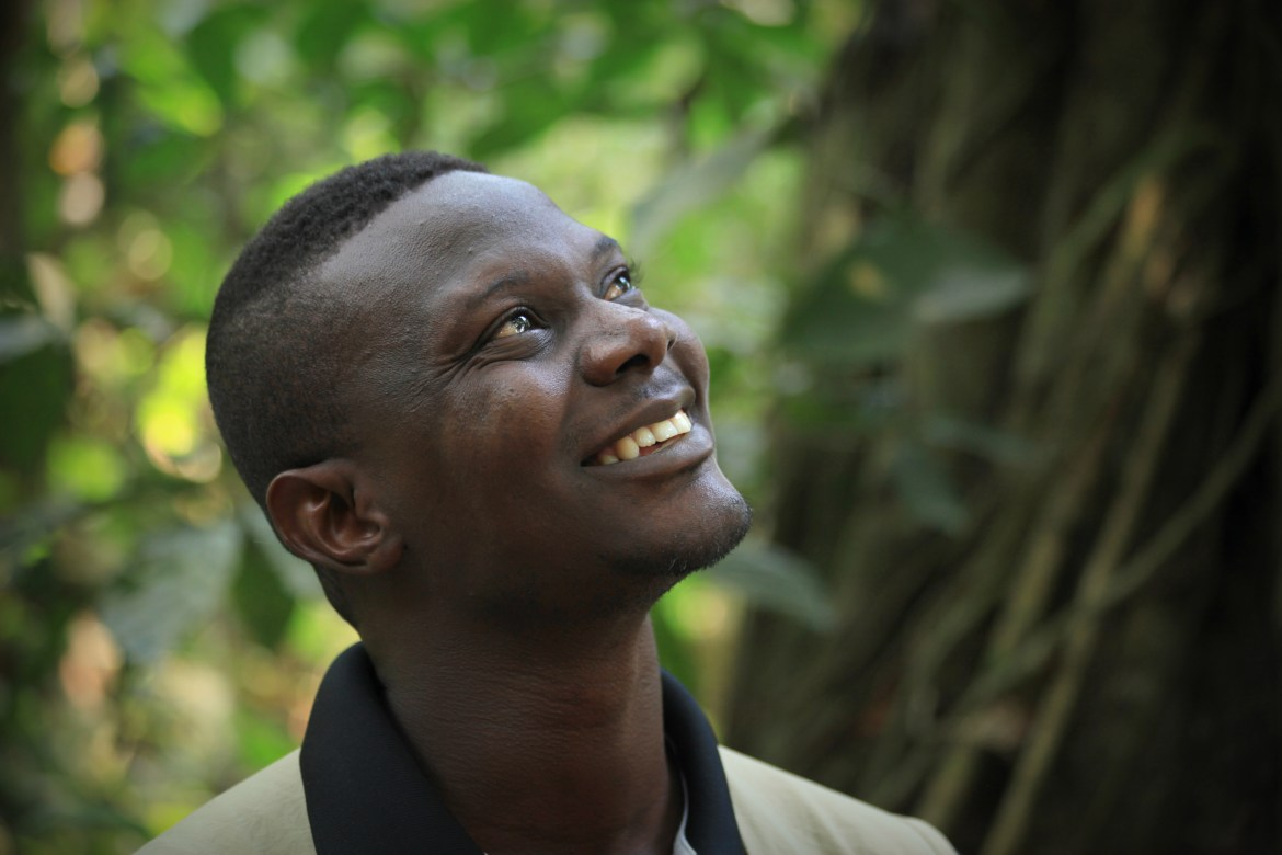 Whitley Fund for Nature winner Caleb Ofori Boateng