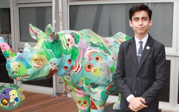 Aidan Gallagher rhino