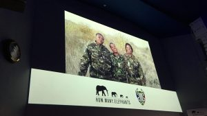 Video message from Black Mambas to How Many Elephants event at Royal Geographical Society
