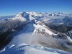 Tocclaraju pre summit view