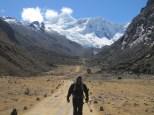 Walk out Ishinka valley
