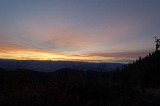 Sunrise over Heber Valley
