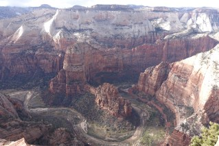 Angel's Landing from Cable Mtn