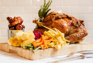 Roast Turkey With Shallot Stuffing